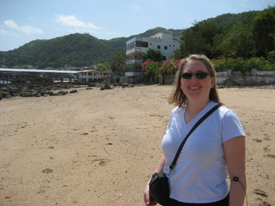 Michelle. Beach on Taboga, Panama